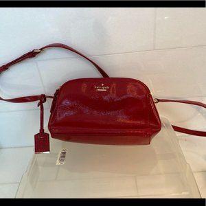 Kate Spade patent leather over shoulder bag